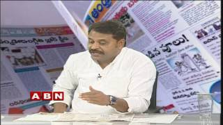 ABN Debate On Telangana Farmers Issues | TRS Vs TDP Vs Congress | Part 1 (20-10-2016)