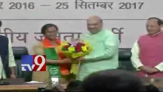 Setback for UP Congress as Ex Chief joins BJP – TV9