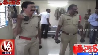 Gym Centers In All Police Stations In Hyderabad | Teenmaar News | V6 News