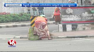 Swachh Hyderabad | GHMC Officials Succeed In Lifting Up Open Garbage Points | V6 News