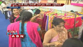 Clothing Exhibition in Hyderabad and Vijayawada (21-10-2016)
