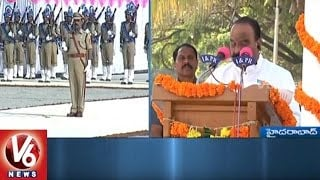 Police Martyrs Commomeration Day | Leaders, Officials Pay Tributes To Martyrs | V6News