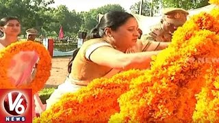 District Officials Pay Tribute To Martyrs | Police Commemoration Day | Adilabad | V6 News