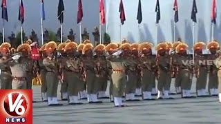 Rajnath Singh Pay Tributes To Police Martyrs | Police Commemoration Day | Delhi | V6 News