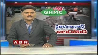 GHMC Commissioner Janardhan Reddy responds on Rs100cr Road repair scam
