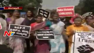 Transgenders Protests in Bengaluru || NTV