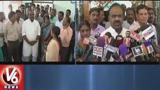 Speaker Madhusudhana Chary Visits Government Offices In Bhupalpally District | V6 News