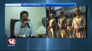 DGP Anurag Sharma Launches CS VK Singh's 'Zameeni Kahaniyan' Book | Hyderabad | V6News