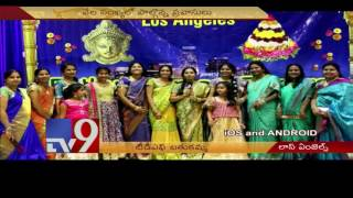 TDF Bathukamma Dasara celebrations in Los Angeles – USA – TV9