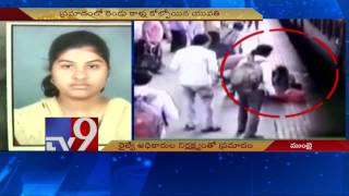 Pune girl who fell off train loses legs – TV9