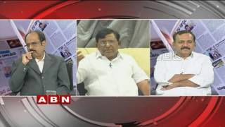 ABN Debate On Telangana Political Survey Controversy | TRS Vs Congress | Part 3