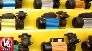 Water Motors Sale Incresed In Hyderabad City With Heavy Rains | V6 News