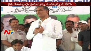Minister Harish Rao Counter To Opposition Parties || NTV