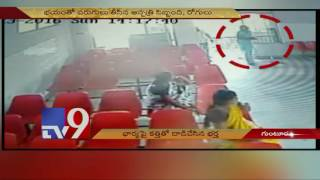 Man attacks wife with knife – TV9