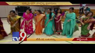 TDF Bathukamma Dasara celebrations in Portland – USA
