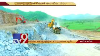 AP CM Chandrababu takes class to Polavaram project contractors