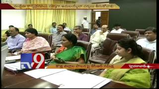 Ensure fruits of TS districts division reach people – KCR to Collectors – TV9