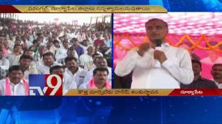 Harish Rao lays foundation for new market at Suryapet – TV9