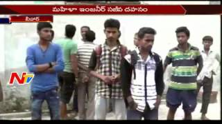 Woman Engineer Burnt Alive in Sitamarhi || Bihar || NTV
