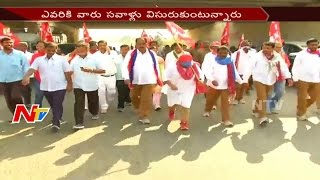 War of Words Between TRS and CPM Parties Still Continue || Off The Record || NTV