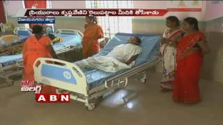 Red Alert | Lover pushes girl into oncoming train in Vizianagaram (25-10-2016)