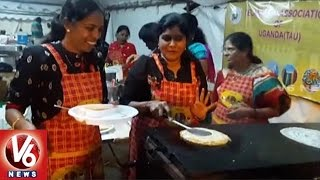 Food Fest, Diwali Celebrations In Kampala | Telangana Association Of Uganda | V6 News