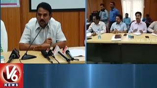 Minister Jupally Krishna Rao Launches DRDO, DRDA Orientation Program | Rangareddy | V6 News