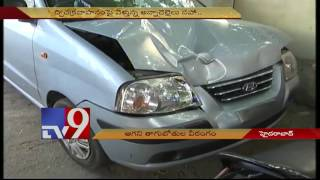 Drunk drivers on rampage in Hyderabad – TV9