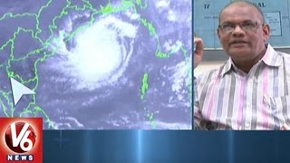 Rains To Hit Coastal Andhra For Next 24 Hours | Cyclone Kyant | Weather Report | V6 News