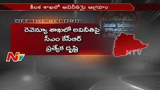CM KCR Special Focus on Revenue Department Illegal Activities || Off The Record || NTV