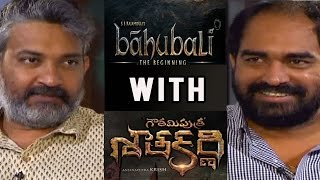 SS Rajamouli interviews Krish | Baahubali with Gautamiputra Satakarni