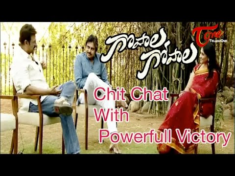 Chit Chat With Pawan Kalyan and Venkatesh || Gopala Gopala Movie Team || 02
