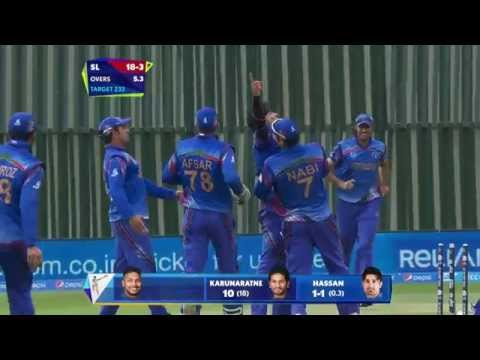 SL vs AFG : Afghans rock SL with 3 wickets. Watch ICC World Cup videos on starsports.com