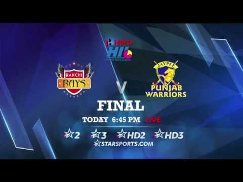 #HeroHIL 2015 Final – Ranchi Rays vs Jaypee Punjab Warriors