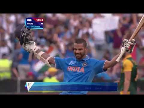 DHA-ONE! Shikhar lights up MCG. Watch ICC World Cup videos on starsports.com