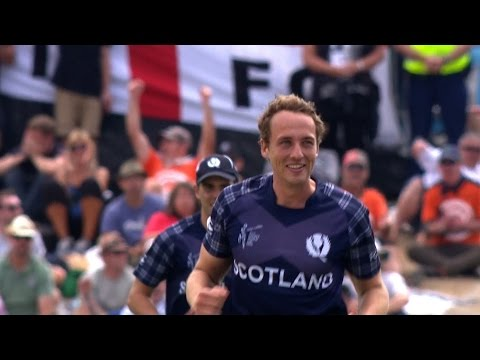 Eng vs Sco : Davey's 4-68 restricts Eng to 303-8. Watch ICC World Cup videos on starsports.com