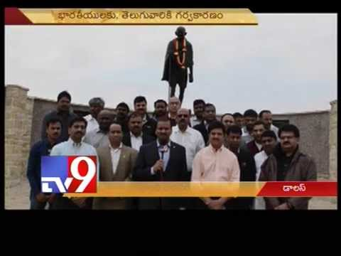 TANA visits Gandhi statue,pay tribute in Dallas- USA