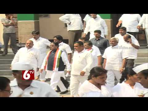 Graduate MLC elections creates clashes among T-Congress Leaders Photo Image Pic