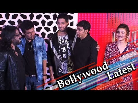 Alia Bhatt | Sidharth Malhotra At The Launch Of 'Coke Studio Season 4′