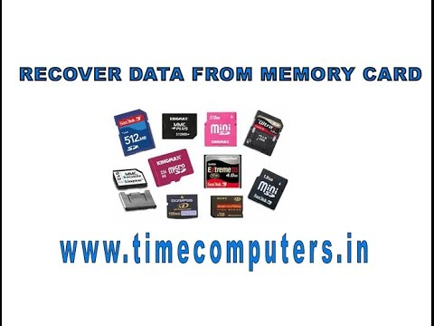How to recover data from memory card Tutorial in telugu