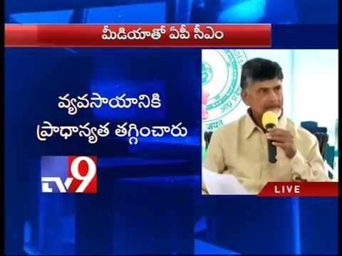 Bitterly disappointed by Union Budget – Chandrababu