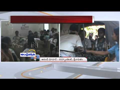 50 Girls BCW Hostel students hospitalized of food poison in Srikakulam Dist (01-03-2015)