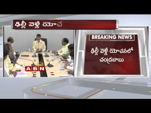 AP CM Chandrababu tour to Delhi on Union Budget allotments issues