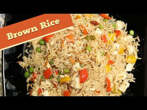 Stir Fried Brown Rice – Quick And Easy Rice / Lunch Box / Recipe – Divine Taste With Anushruti