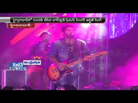 Arijit Singh Live Concert at TKR College of Engineering, Hyderabad (26-03-2015) Photo Image Pic
