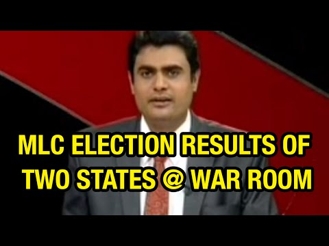 Discussion on MLC Election results of Andhra Pradesh and telangana – War Room | 6 TV Photo Image Pic