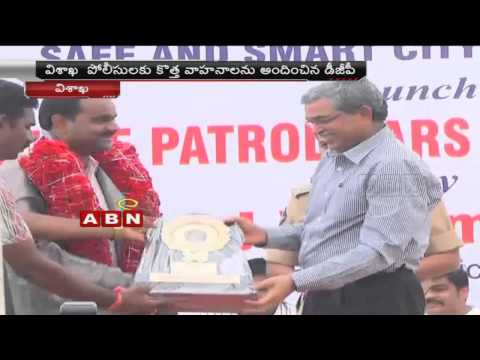 Launching of Police Patrol cars and motorcycles by J.V. Ramudu in Visakha (27 – 03 – 2015) Photo Image Pic