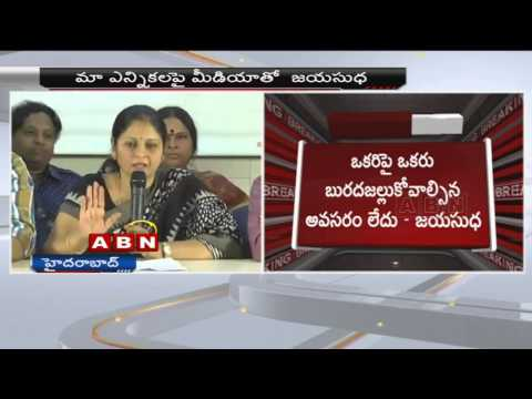 I'm not a Dummy in MAA Elections - Jayasudha
