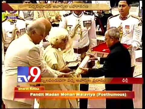 Amitabh, Dileep Kumar and Advani awarded Padma Vibhushan