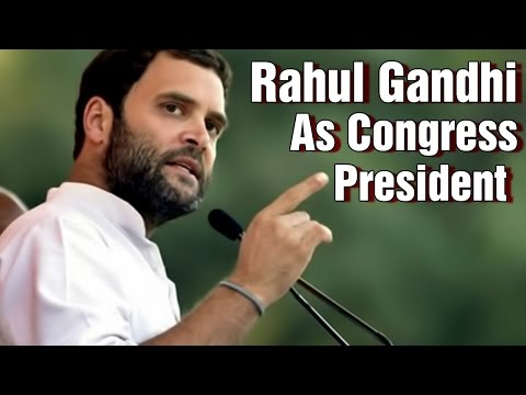 Rahul Gandhi To Take Over as Congress President 2015 I 6TV Photo Image Pic